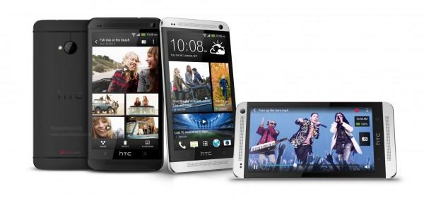 HTC ONE M7 - biały i czarny