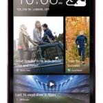 HTC One - czerwony
