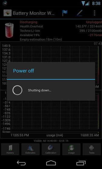 LG Nexus 4 - przegrzewanie
