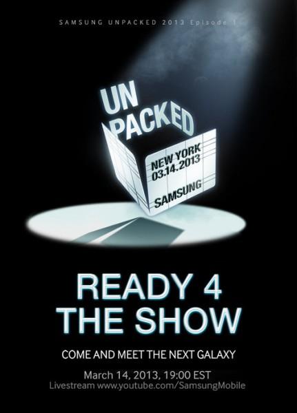 Samsung Galaxy S IV - Unpacked 14.03.2013