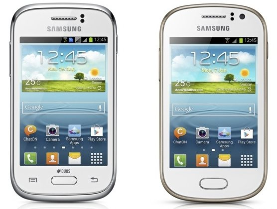 Samsung Galaxy Young i Galaxy Fame