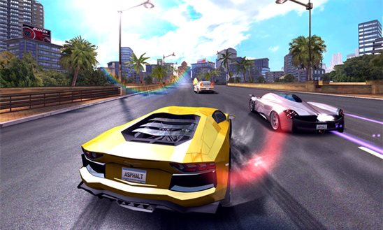 Asphalt 7: Heat - Windows Phone