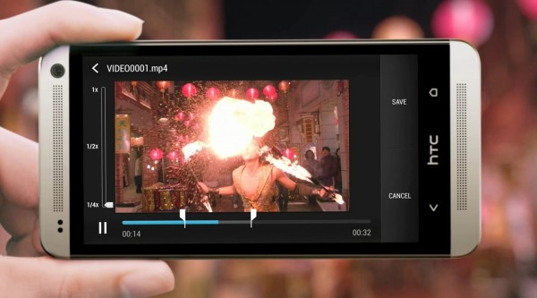 HTC One - slow frame rate