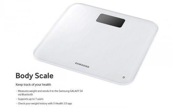 Samsung Galaxy S 4 - Body Scale