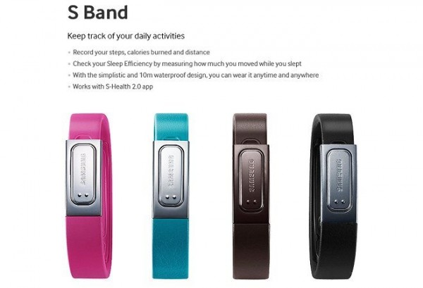 Samsung Galaxy S 4 - S Band