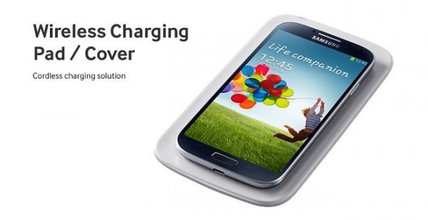 Samsung Galaxy S 4 - Wireless Charging Pad-Cover