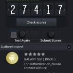 Samsung Galaxy S4 I9500 - Antutu 1