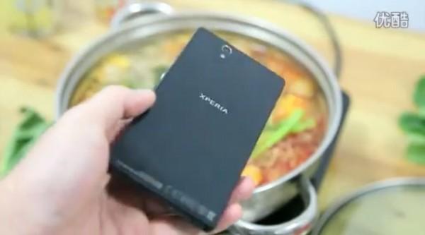 Sony Xperia Z - zupa