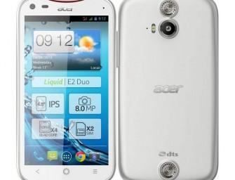 Acer Liquid E2 z czterordzeniowym procesorem i głośnikami stereo, oficjalnie zaprezentowany