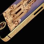 Apple iPhone 5 ze złota i diamentów