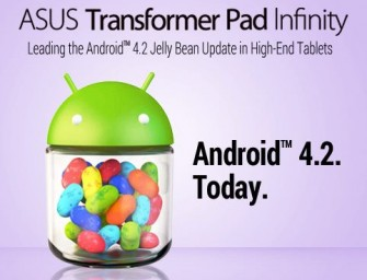 Asus Transformer Pad Infinity dostaje Android 4.2 Jelly Bean