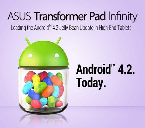 Asus Transformer Pad Infinity - Jelly Bean
