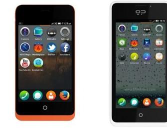 Smartfony GeeksPhone Keon i Peak z Firefox OS już wyprzedane