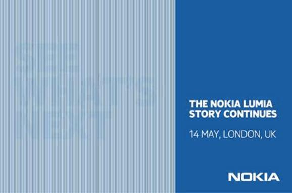 Nokia Lumia - zaproszenie na 14 maja 2013