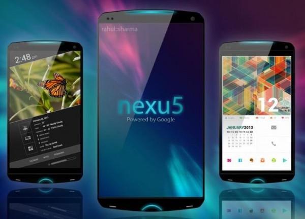 Google LG Nexus 5 - koncept