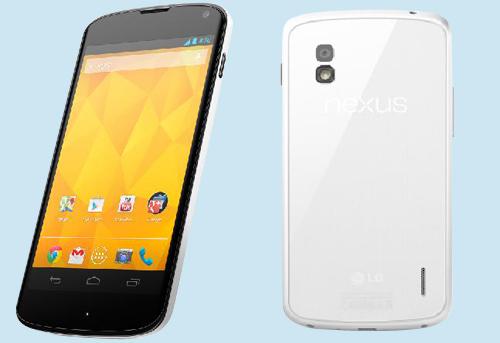 LG Nexus 4 - biały