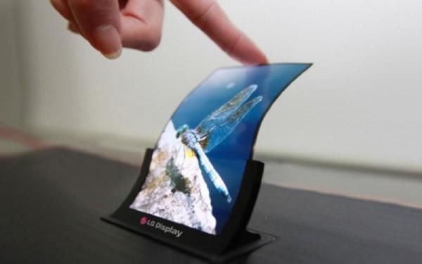 LG - giętki ekran OLED