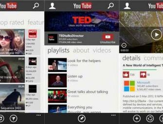 Google prosi Microsoft, aby usunął ze swojego sklepu Windows Phone YouTube