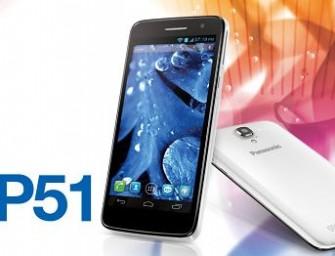 Panasonic P51: cztery rdzenie i ekran HD w cenie 1700 zł