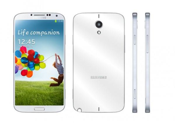 Samsung Galaxy Note III - koncept