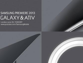 Samsung zaprasza na 20 czerwca do Londynu, zobaczymy tam nowe urządzenia Galaxy i Ativ