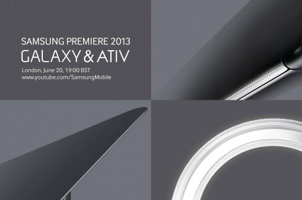 Samsung - zaproszenie do Londynu na 20 czerwca