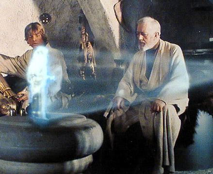 star wars - hologram