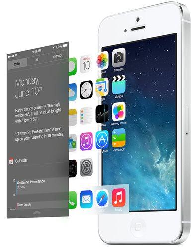 Apple iOS 7 - paralaksa