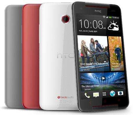 HTC Butterfly S - zestaw kolorów