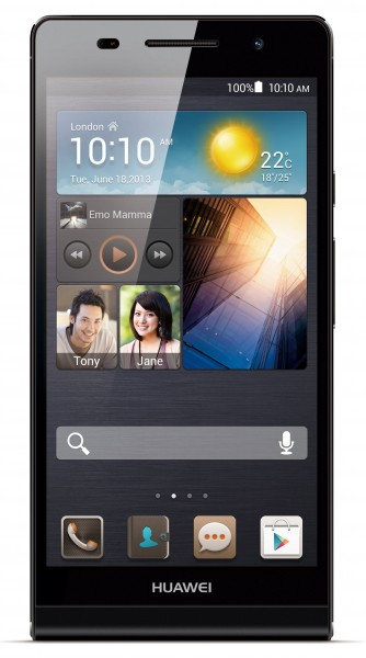 Huawei Ascend P6 - front