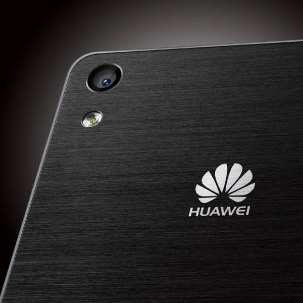 Huawei Ascend P6 - tył