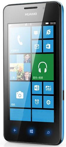 Huawei Ascend W2 - niebieski