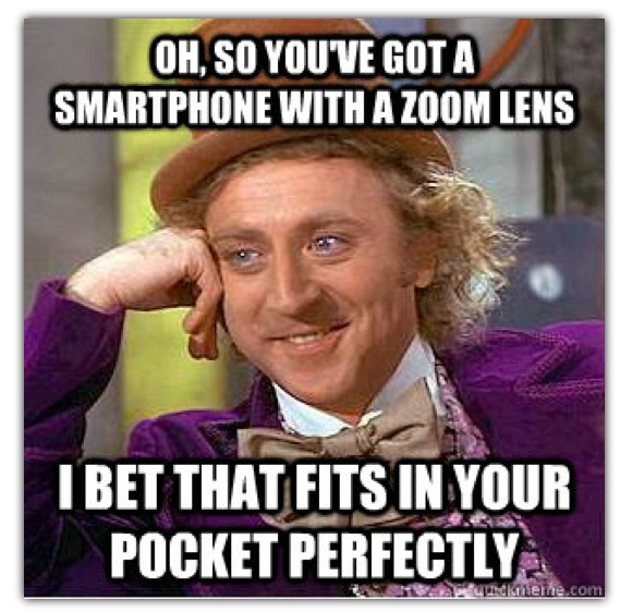Nokia szydzi z Samsunga Galaxy S4 Zoom