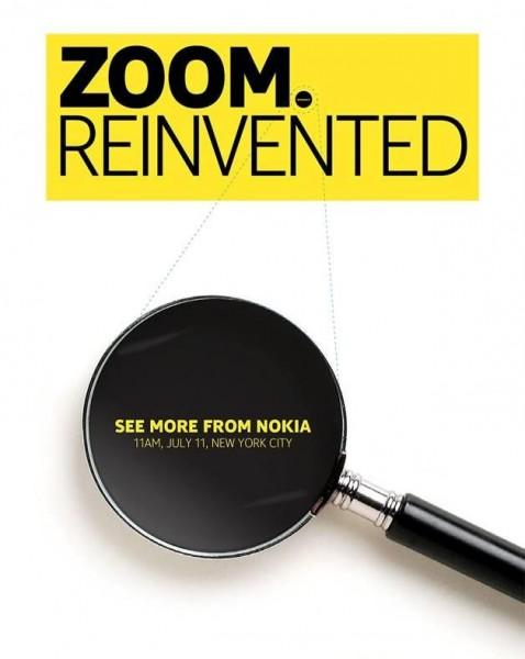 Nokia - zaproszenie na 11 lipca 2013