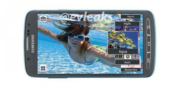 Samsung Galaxy S4 Active - pod wodą