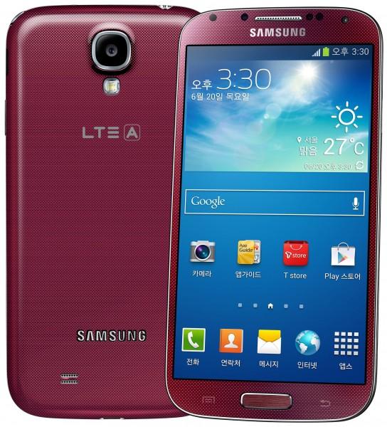 Samsung Galaxy S4 LTE-A SHV-E330S - czerwony