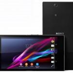 Sony Xperia Z Ultra - front i tyl