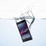 Sony Xperia Z Ultra - w wodzie