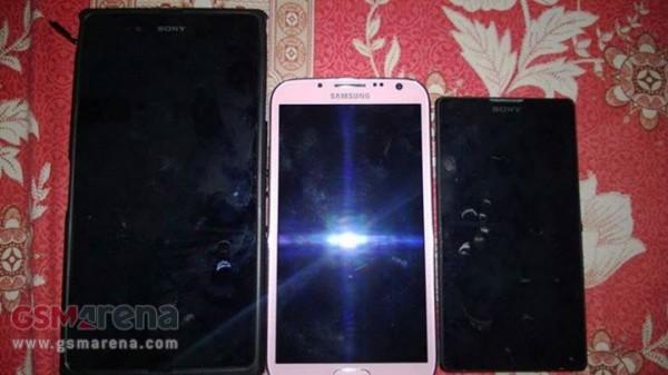Sony Xperia ZU i inne smartfony