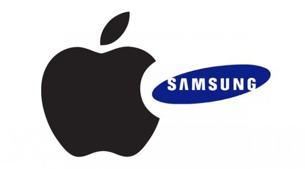 Apple i Samsung - logo