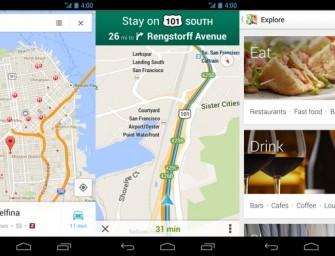 Mapy Google zaktualizowane do wersji 7.0, co nowego?