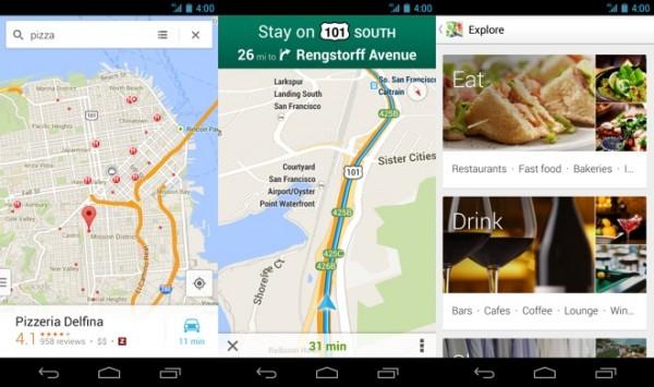 Google Maps 7.0