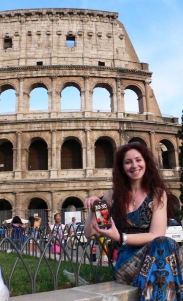 LG Optimus G Pro w Rzymie