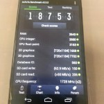 Motorola Moto X - benchmark AnTuTu
