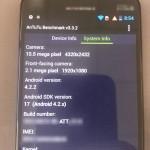 Motorola Moto X - benchmark AnTuTu 5