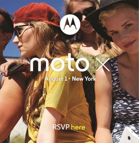Motorola Moto X - data premiery i zaproszenie