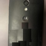 Motorola Moto X - tyl
