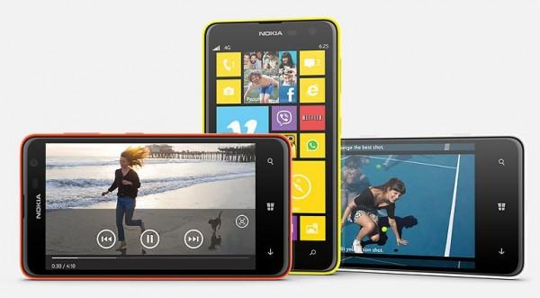 Nokia Lumia 625 - kolory