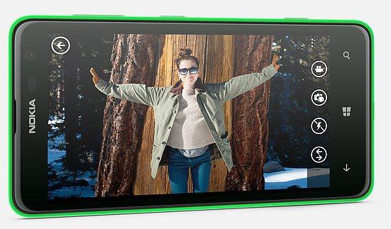 Nokia Lumia 625 - zielona