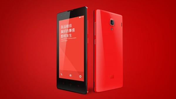 Xiaomi Hongmi - czerwony